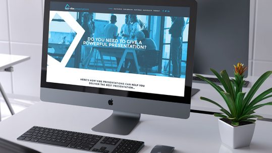 Vibe Presentations Website
